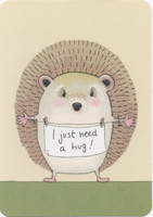 Hedgehog hug