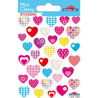 Mini sticker sheet - Hearts