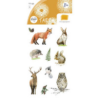 Forest animals (2 sticker sheets)
