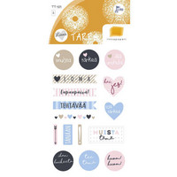 Text stickers (2 sticker sheets)