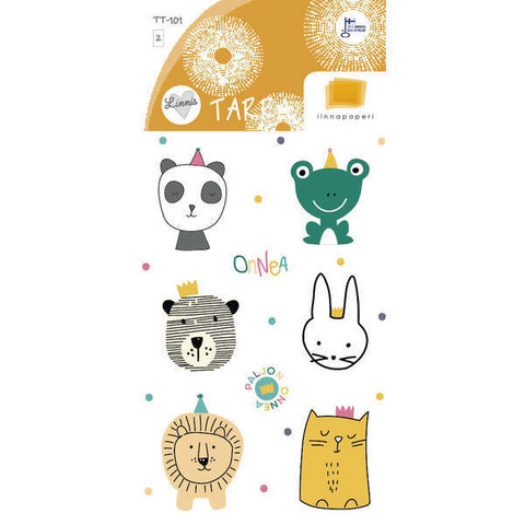 Cute animals (2 sticker sheets)
