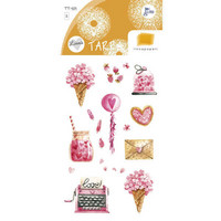 Pink things (2 sticker sheets)
