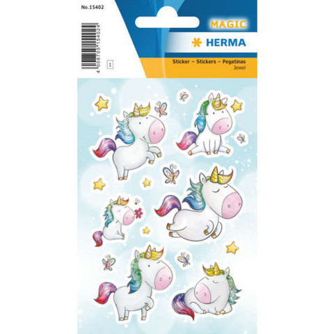Unicorns (1 sticker sheet)