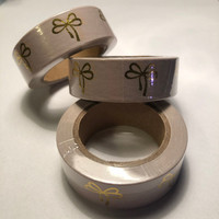 Washi tape - Foiled bows (1.5cm x 10m) #2