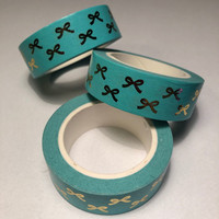 Washi tape - Foiled bows (1.5cm x 10m) #3