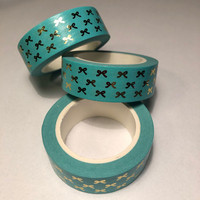 Washi tape - Foiled bows (1.5cm x 10m) #5
