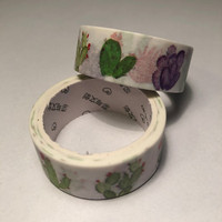 Washi tape - Plants (1.5cm x 5m) #2