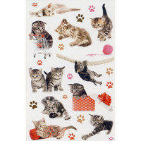 Kittens (3 sticker sheets)