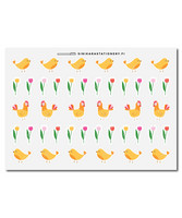 Sinikara Stationery - Easter Deco