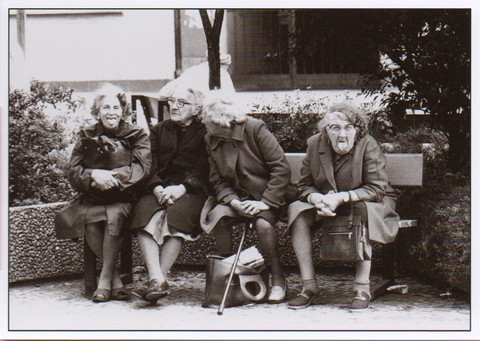 Ladies on the bench