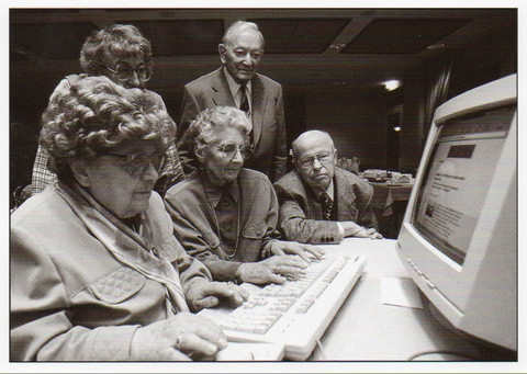 Old people and computer