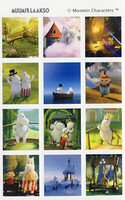 Moomin-stickers (3 sheets) #22