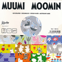 Moomin - design papers (15x15cm)