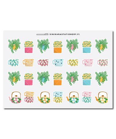 Sinikara Stationery - Make Your Happy Life Deco Sheet