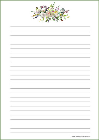 Pionit - kirjepaperit (A5, 10s) #2