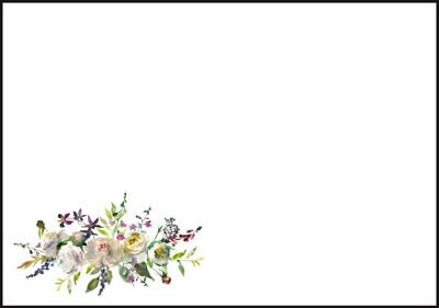 Peonies - envelope (C6)