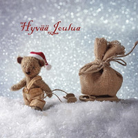 Christmas postcard - Teddy bears #5
