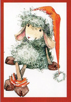 Little Christmas postcard #3