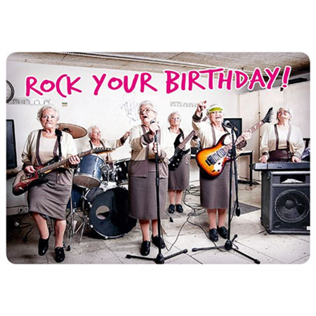 Rock your birthday!