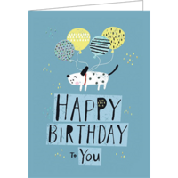 Happy Birthday to you (9.7x13.3cm, incl. envelope)
