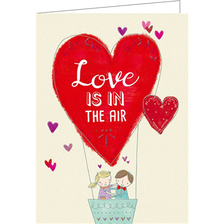 Love is in the air (9.7x13.3cm, 2-os, sis. kuoren)