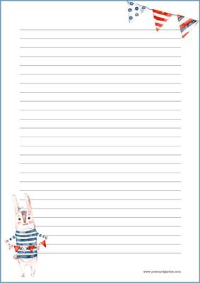 Pupu - kirjepaperit (A5, 10s) #1