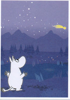 Moomintroll and comet