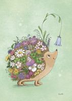 Flower hedgehog