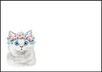 Kissa - kirjekuori (C6) #3