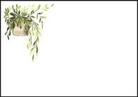 Plant - envelope (C6) #1