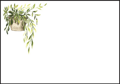 Kasvi - kirjekuori (C6) #1