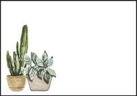 Plant - envelope (C6) #2