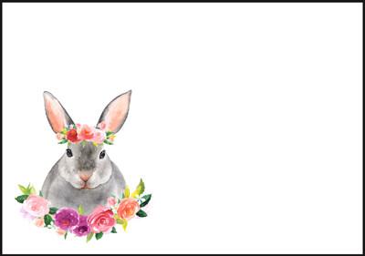 Bunny - envelope (C6) #1