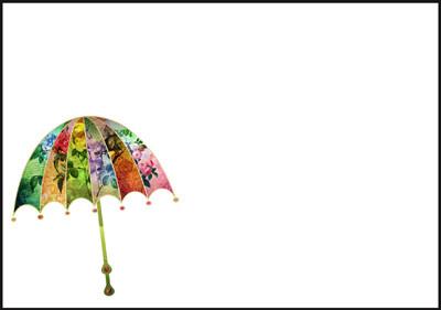 Umbrella - envelope (C6) #1