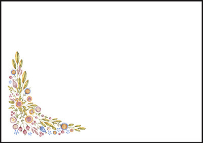 Kukka - kirjekuori (C6) #3