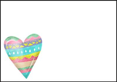 Heart - envelope (C6) #1
