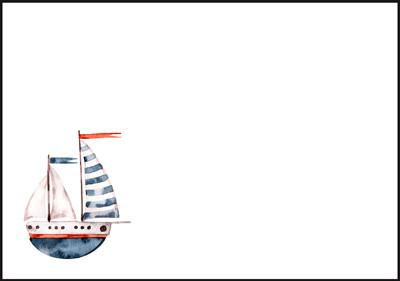 Boat - envelope (C6) #1