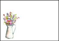 Flower vase - envelope (C6) #2
