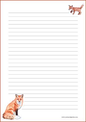Kettu - kirjepaperit (A5, 10s) #3