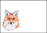 Fox - envelope (C6) #1
