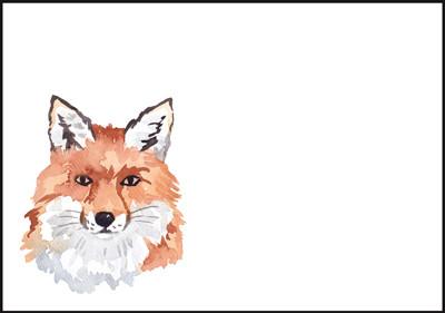 Fox - envelope (C6) #1
