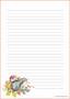 Siili - kirjepaperit (A5, 10s) #2