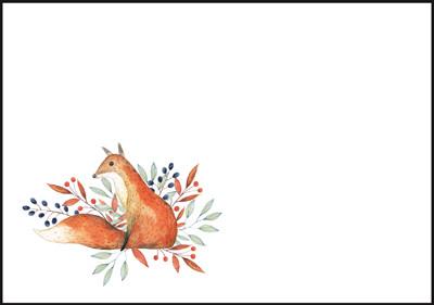 Kettu - kirjekuori (C6) #5