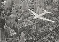 Lentokone Manhattanin yllä