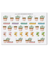 Sinikara Stationery - Spring seedlings