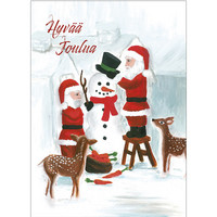Christmas postcard - Santa Claus, CesiDesign #2