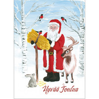 Christmas postcard - Santa Claus, CesiDesign #3