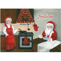 Christmas postcard - Santa Claus, CesiDesign #4