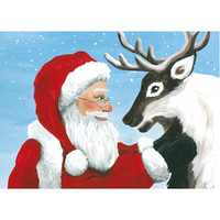 Christmas postcard - Santa Claus, CesiDesign #5
