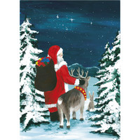 Christmas postcard - Santa Claus, CesiDesign #6